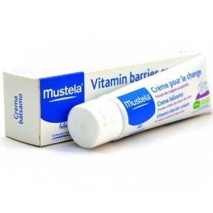 Mustela Crema Balsamo cambio de pañal 50 ml.