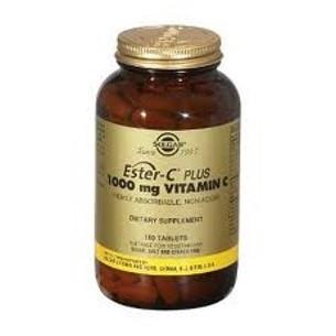 Solgar Ester C Plus 1000 mg Vitamin C 180 tablets