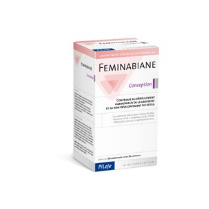 Pileje Feminabiane conception 28 tablets and 28 capsules