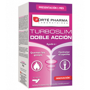 Forte Pharma Turboslim Double action 56 capsules. (1 month)