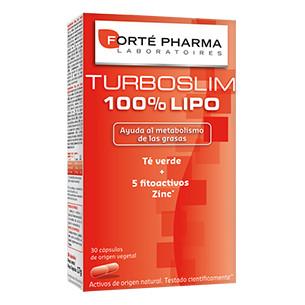 TurboSlim 100% Lipo 30 capsules. Forte Pharma