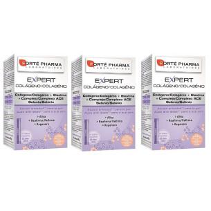 Forte Pharma Expert Colágeno 3 cajas 60 sticks