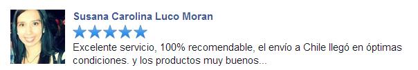 Recomendación comprar en bcnpharma.com de Susana Carolina Luco